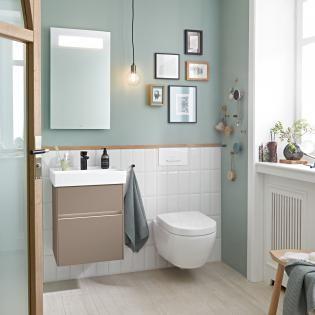 Gäste-WC: 24 Ideen & Beispiele für Ihre Gästetoilette – Emero Life