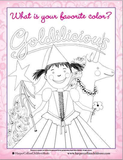 Goldilicous Coloring Page Children S Book Characters Coloring Pages Book Characters