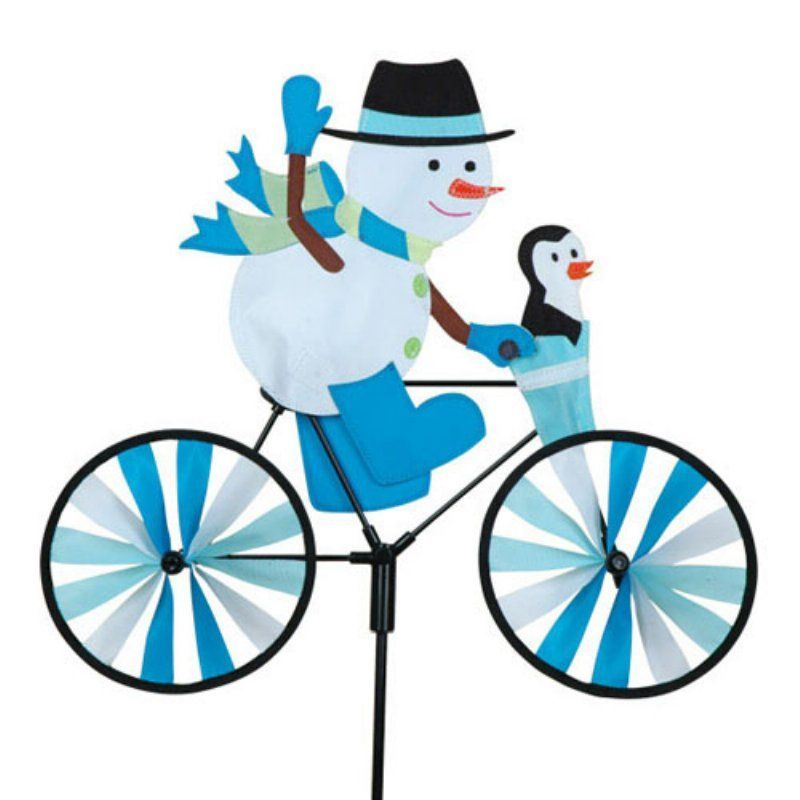 Premier Designs 20 In. Snowman Bicycle Spinner   PD26868