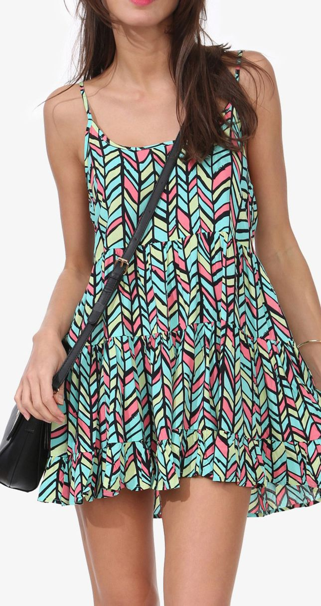 Lissy Printed Dress, would be cute over jeans