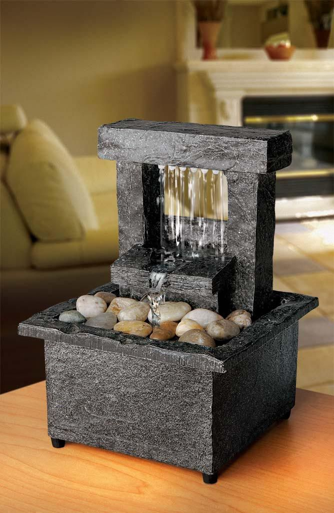 Battery Operated Tabletop Fountain | Indoor Fountains | Pinterest ...