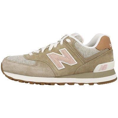 sneakers new balance classics wl574bca beige