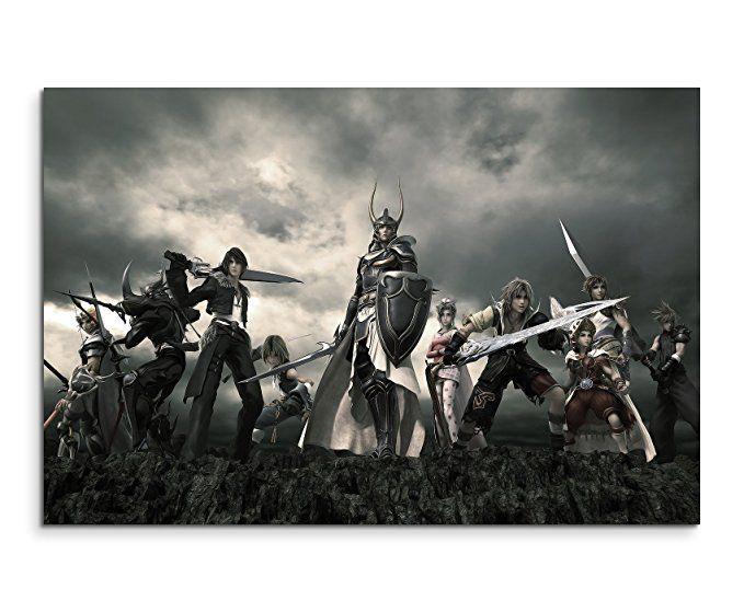 Dissidia Final Fantasy Wandbild 120x80cm XXL Bilder und Kunstdrucke