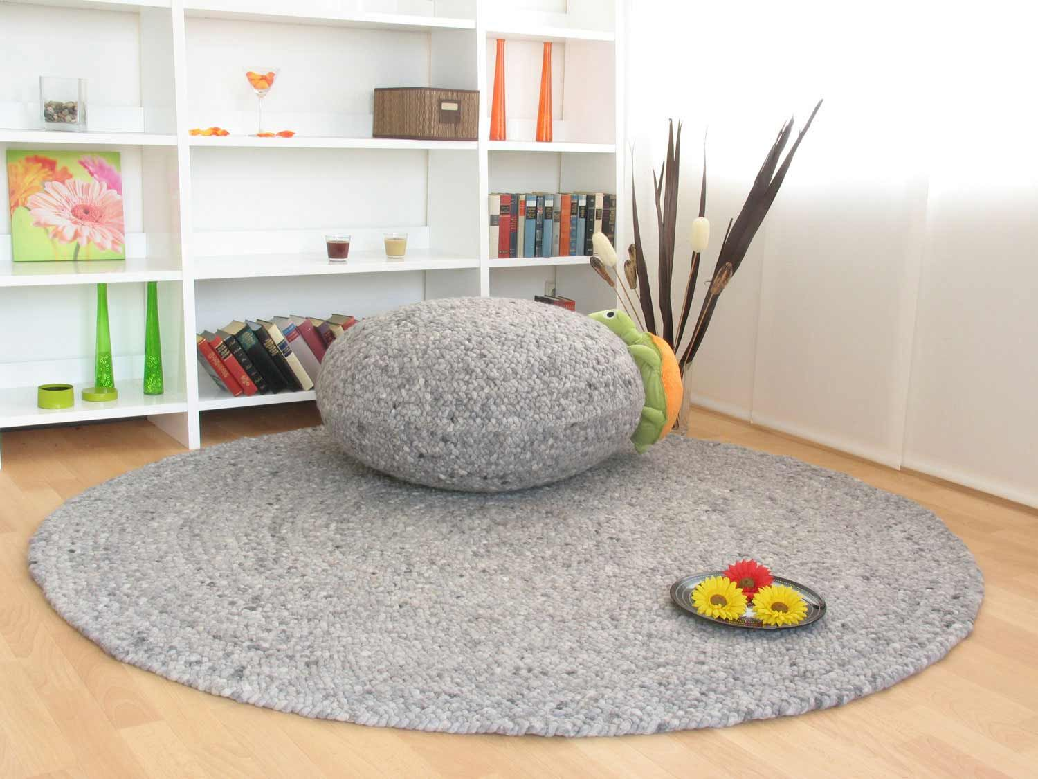 Handweb Teppich Bolero | global-carpet if possible with the seating cushion