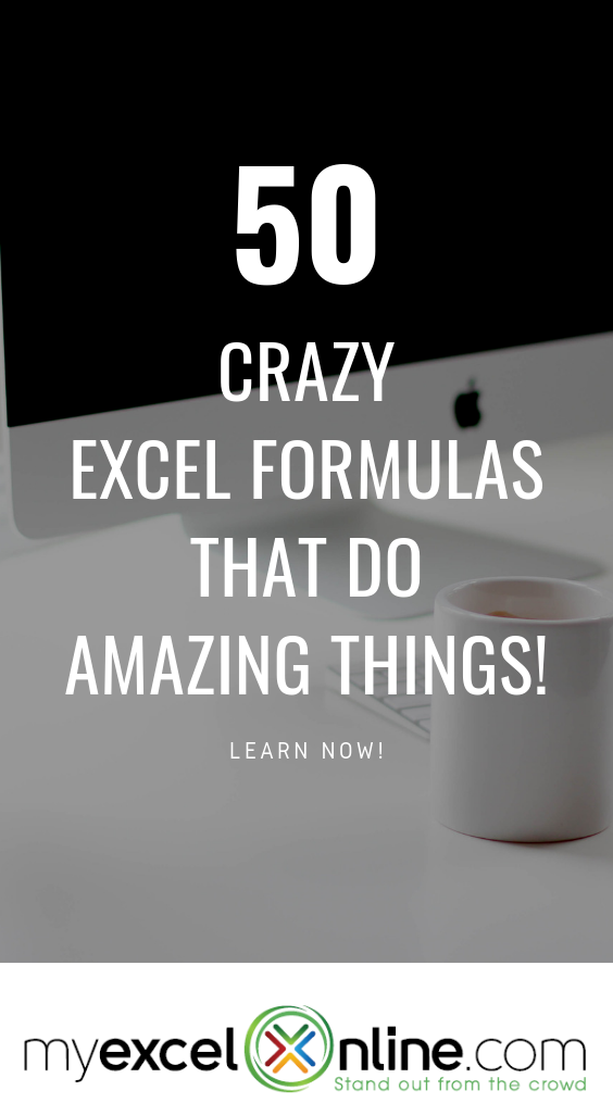 In this FREE Excel tutorial you will find 50  Microsoft Excel formula examples for key functions like VLOOKUP, INDEX, MATCH, IF, SUMPRODUCT, AVERAGE, SUBTOTAL, OFFSET, LOOKUP, ROUND, COUNT, SUMIFS, ARRAY, FIND, TEXT,
