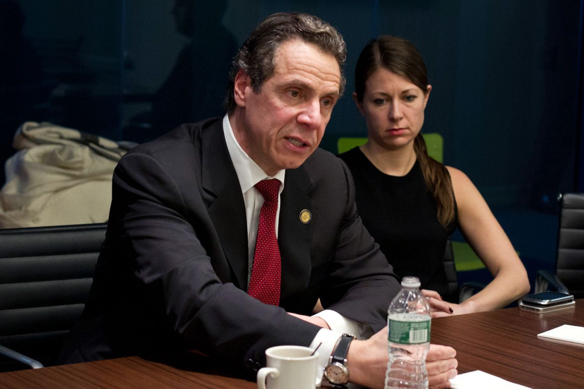 Gov Andrew Cuomo Broke A Glass Ceiling In Promoting Melissa Derosa Who D Been His Chief Of Staff To Become Secretary To Chief Of Staff Andrew Cuomo Melissa
