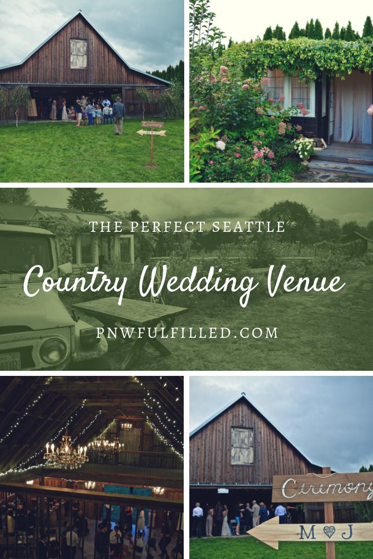 Lazy River Farm | Seattle wedding venues, Rustic wedding ...