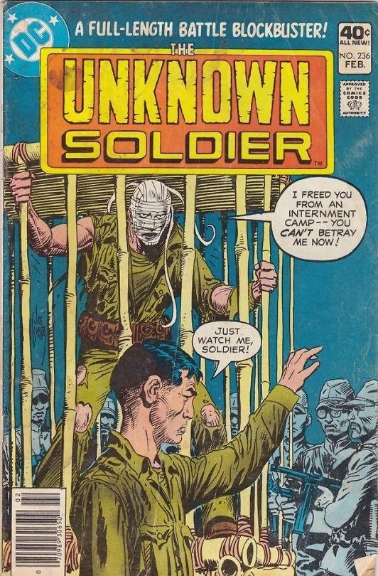 Unknown Soldier 236 Pencils Joe Kubert Inks Joe Kubert