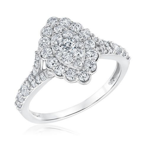 Composite Marquise Diamond Engagement Ring 1 1/4ctw - Item 19585769   REEDS Jewelers
