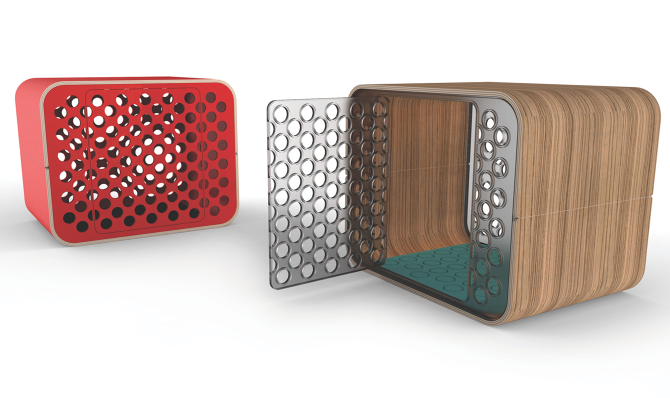 modern dog crate nashyboy josh rogers creative person doggies rh pinterest com Modern Dog Crate Like Furniture Dog Crate Top Slide Door