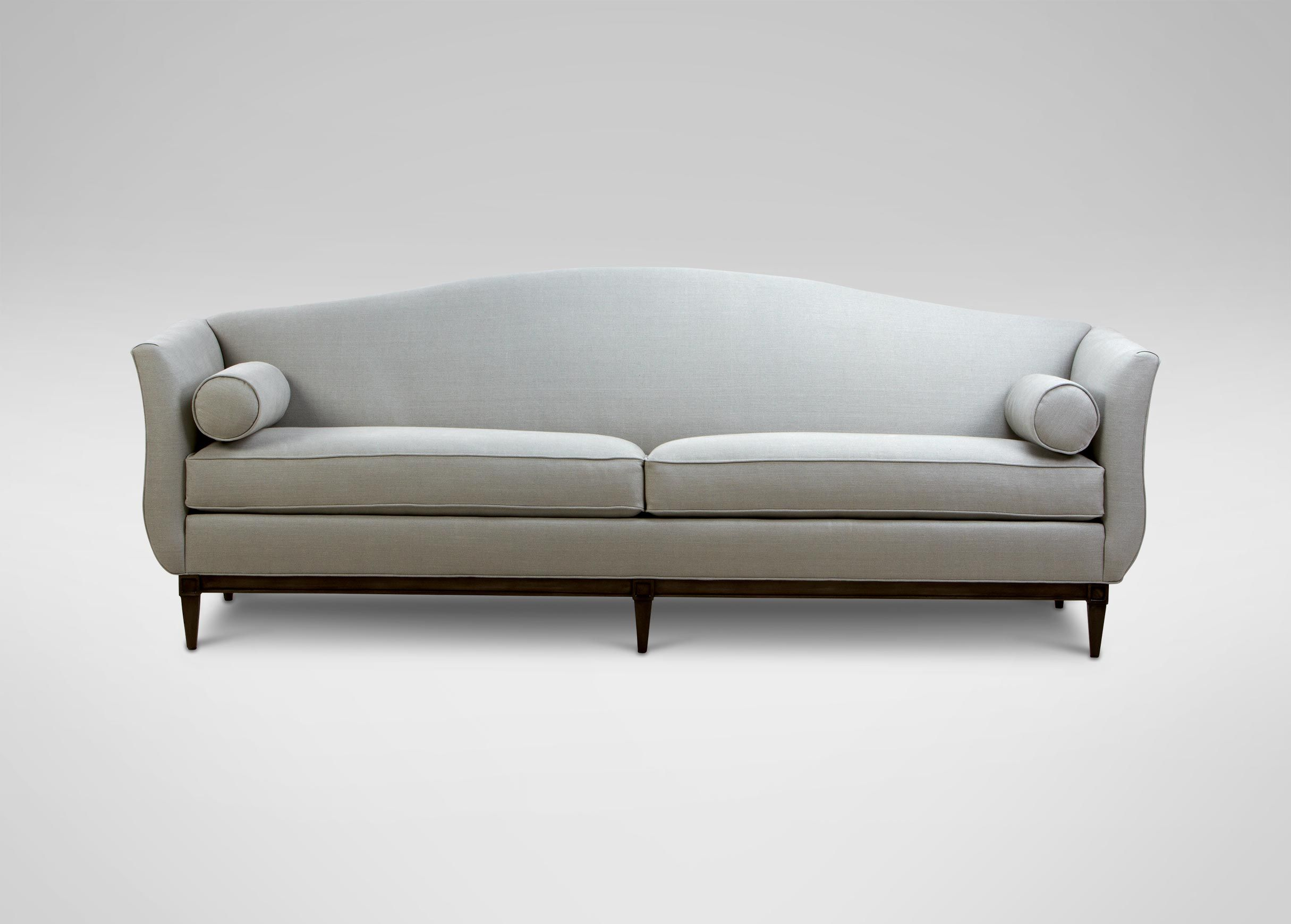 8 Audrey Sofa multiple fabric and finish options Approximately
