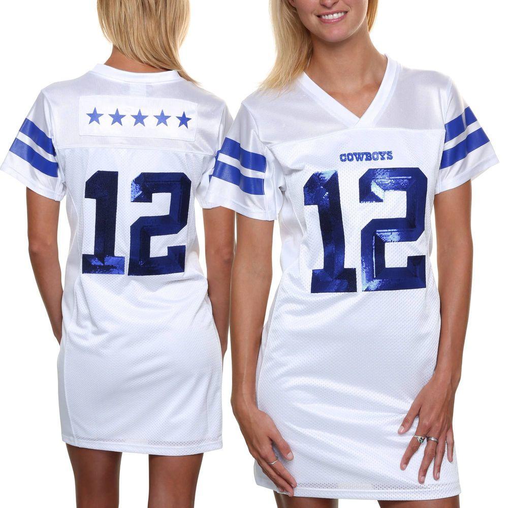 f97fdecb009 Dallas Cowboys Women's Viola Dress - White | Dallas Cowboys #1 ...