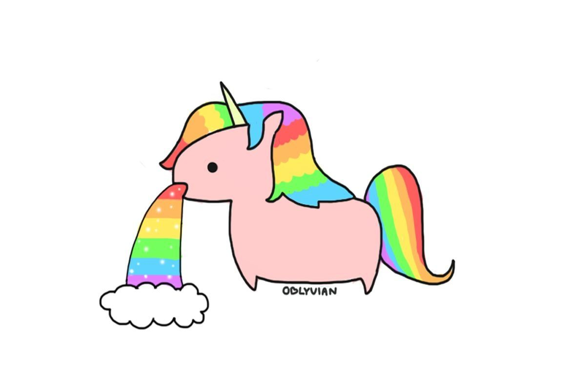 Comment block but while you wait please enjoy this unicorn barfing up its intestines that are unicorn rainbow slush which was originally solid rainbow