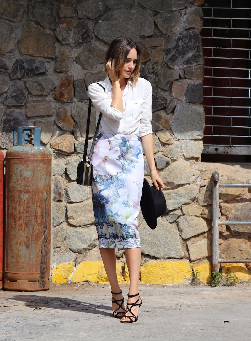 Louise Roe | Why You Should Wear Florals In Fall | Featuring Ted Baker