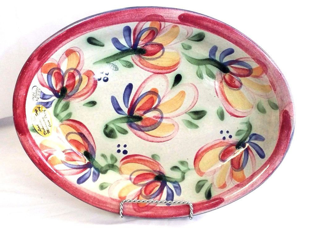 Glazed Ceramic Oval Serving Platter Lead free Dishwasher Microwave Safe 13.75\  #Unbranded  sc 1 st  Pinterest & Glazed Ceramic Oval Serving Platter Lead free Dishwasher Microwave ...