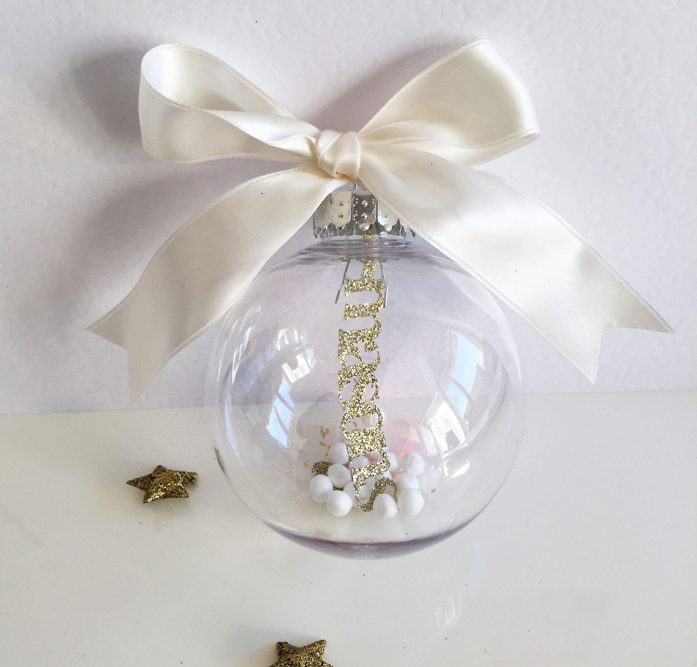 perfect personalised family christmas glass bauble | Christmas by ...