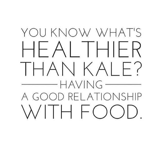 Healthier Than Kale A Good Relationship With Food Edrecovery