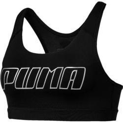 Puma Damen Crop-Top 4keeps Bra M, Größe Xs In Puma Black-Silver Puma, Größe Xs In Puma Black-Silver #cutecroptops