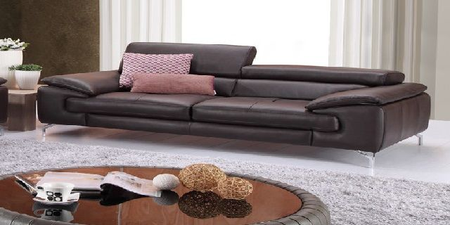 Sleek Leather Sofa Sofas For Small Spaces Sofa Leather Sofa