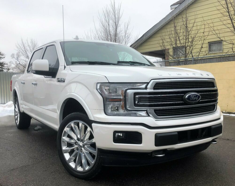 2018 Ford F 150 Limited 2018 Rare Color Combo Limited Loaded To