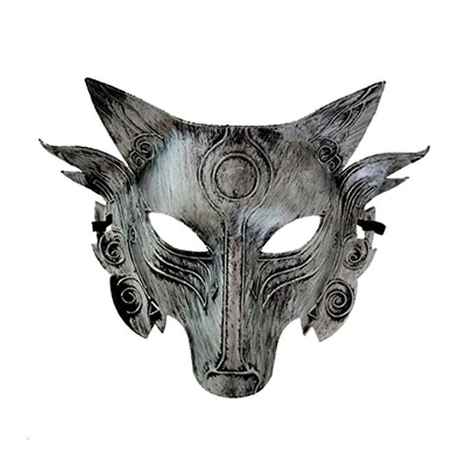 RUTILISM Halloween Wolf Head Mask Werewolf