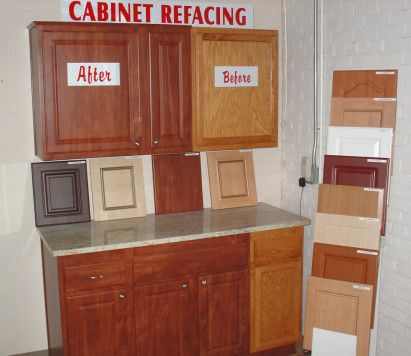 Refacing cabinets | Refacing kitchen cabinets, Cost of ...