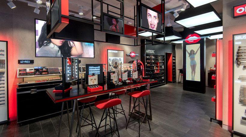 Boutiques Make Up For Ever Work En 2019 Pinterest Retail