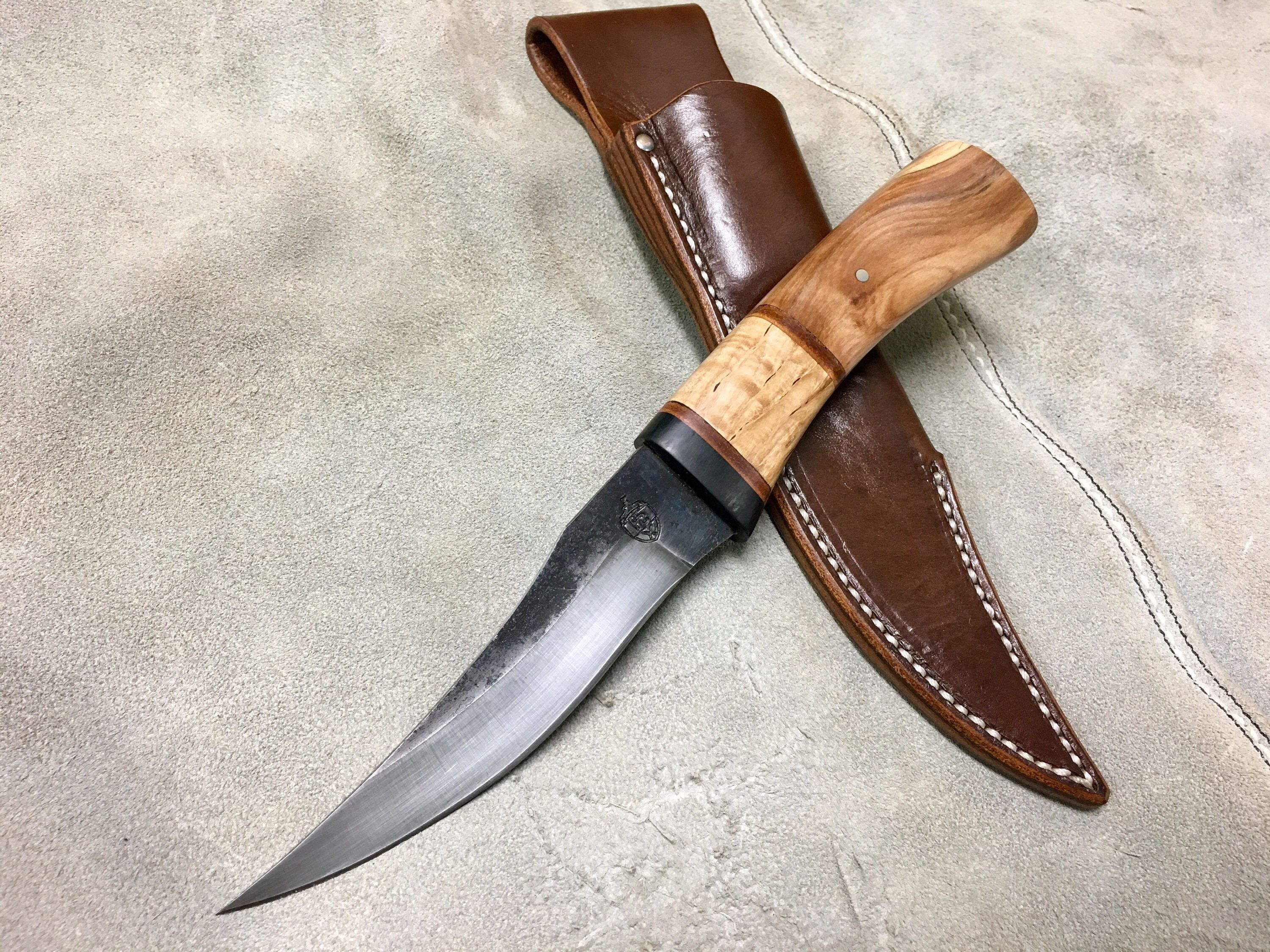 A Personal Favorite From My Etsy Shop Https Www Etsy Com Listing 553083382 Handcrafted Hunting Knife With Forged Couteau
