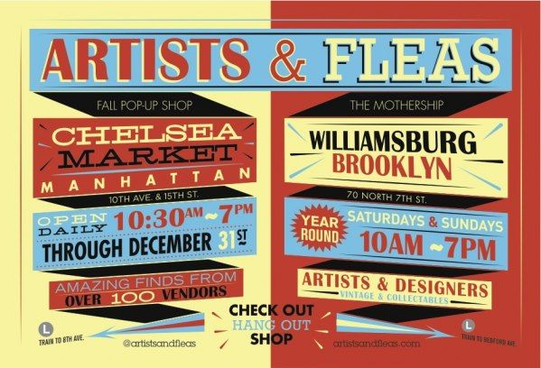 Artists & Fleas - Williamsburg, Brooklyn