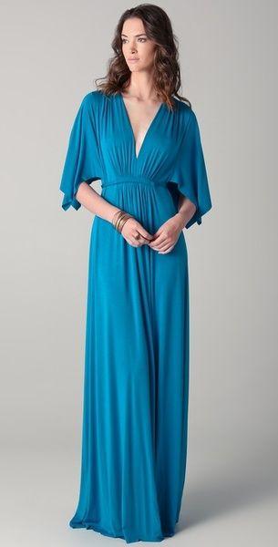 846b2bd2ad6 Rachel Pally Long Caftan Dress in Blue - Lyst