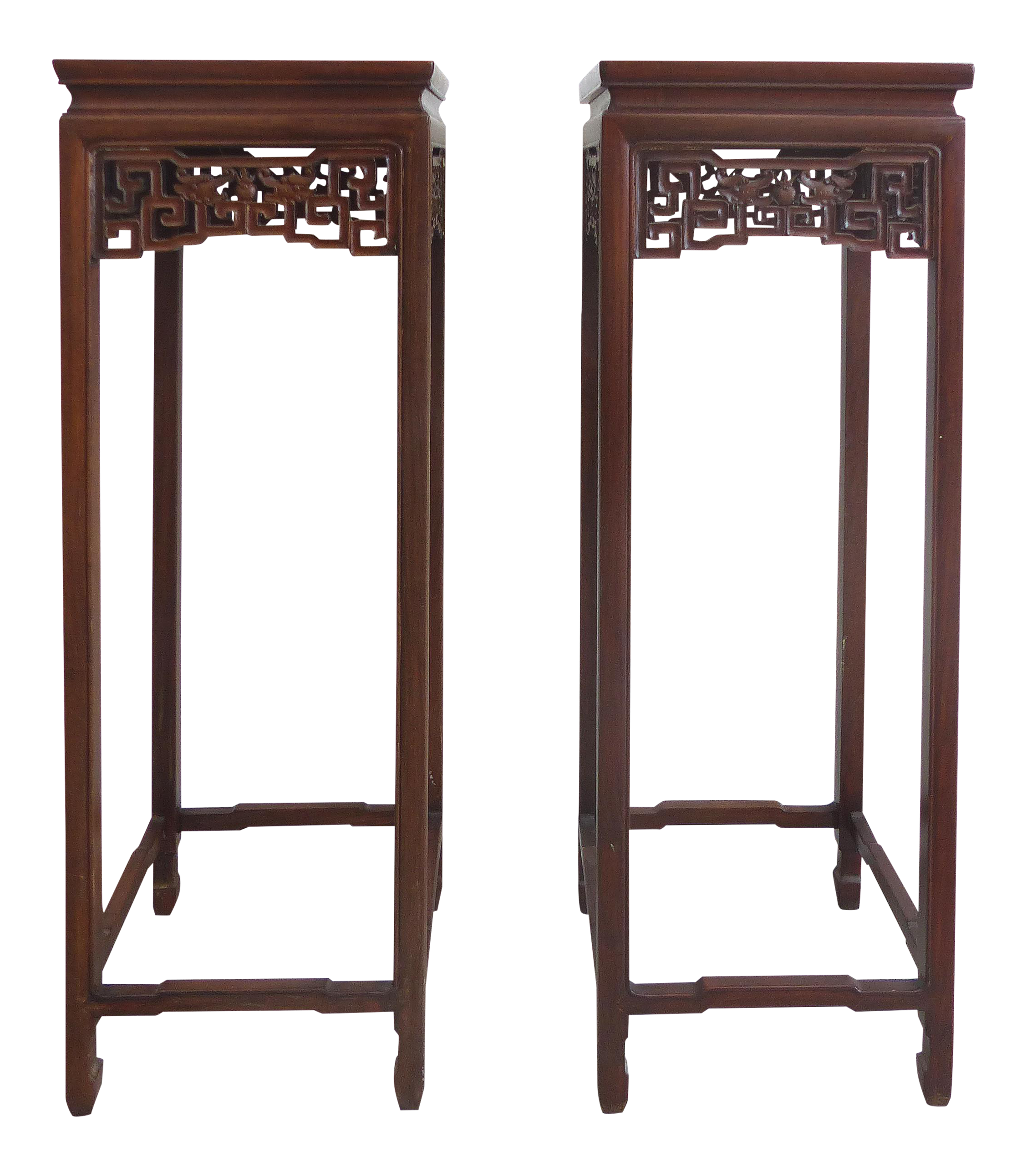 product tall table pair pedestal empire french side stands p