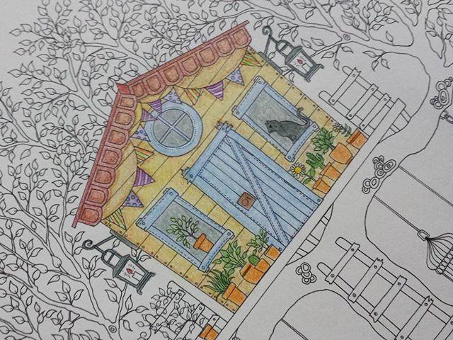 #jardimsecreto #jardimsecretoinspire #secretgarden #secretgardencoloringbook #coloring #coloringbook #color #colors #johannabasford #desenho #pintando #pintura #livrodepintar #livrodecolorir #homensquepintam #cores #cor #arte #passatempo #antiestres