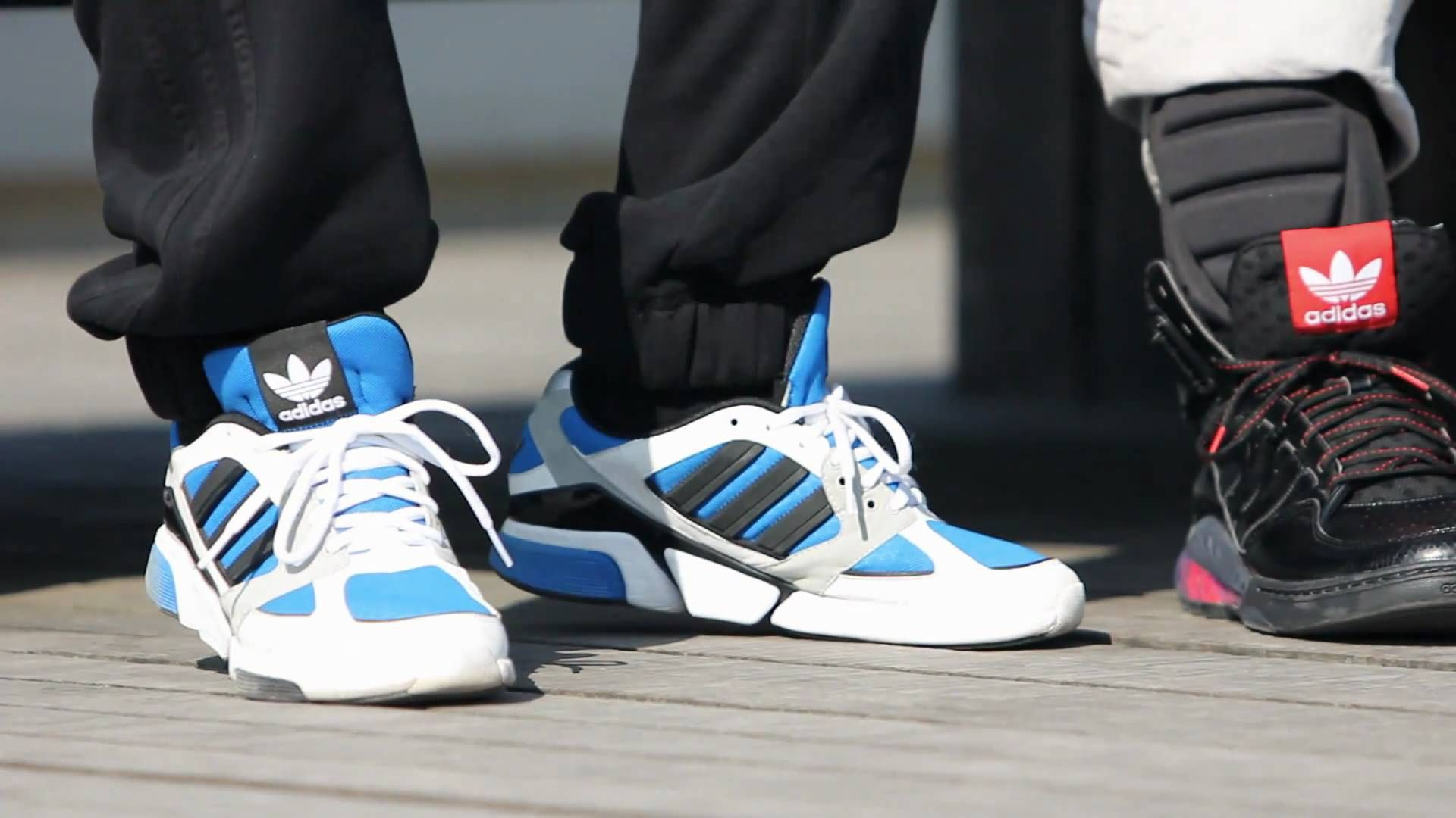 Adidas Creates Musical Tap Shoes for Break Dancers - featuring Les Twins  (Criminalz) and Bboy Lamine & Mounir (Vagabonds)