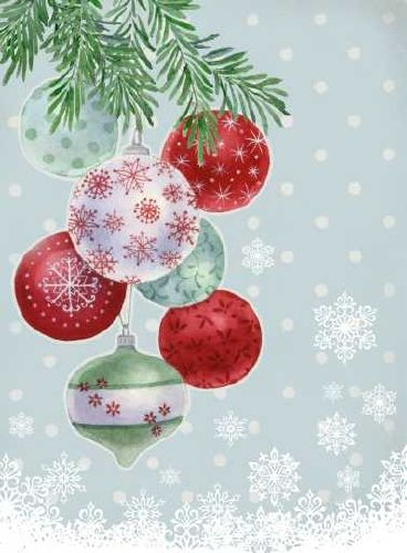 For Xmas Christmas Illustration Paper Christmas Ornaments