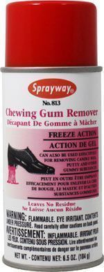 CHEWING GUM REMOVER Effectively removes gum, wax, putty from surfaces Freezes the substance so it can easily be cracked off Leaves no residue Pleasant cherry scent #gumremoval CHEWING GUM REMOVER Effectively removes gum, wax, putty from surfaces Freezes the substance so it can easily be cracked off Leaves no residue Pleasant cherry scent #gumremoval CHEWING GUM REMOVER Effectively removes gum, wax, putty from surfaces Freezes the substance so it can easily be cracked off Leaves no residue Pleasa