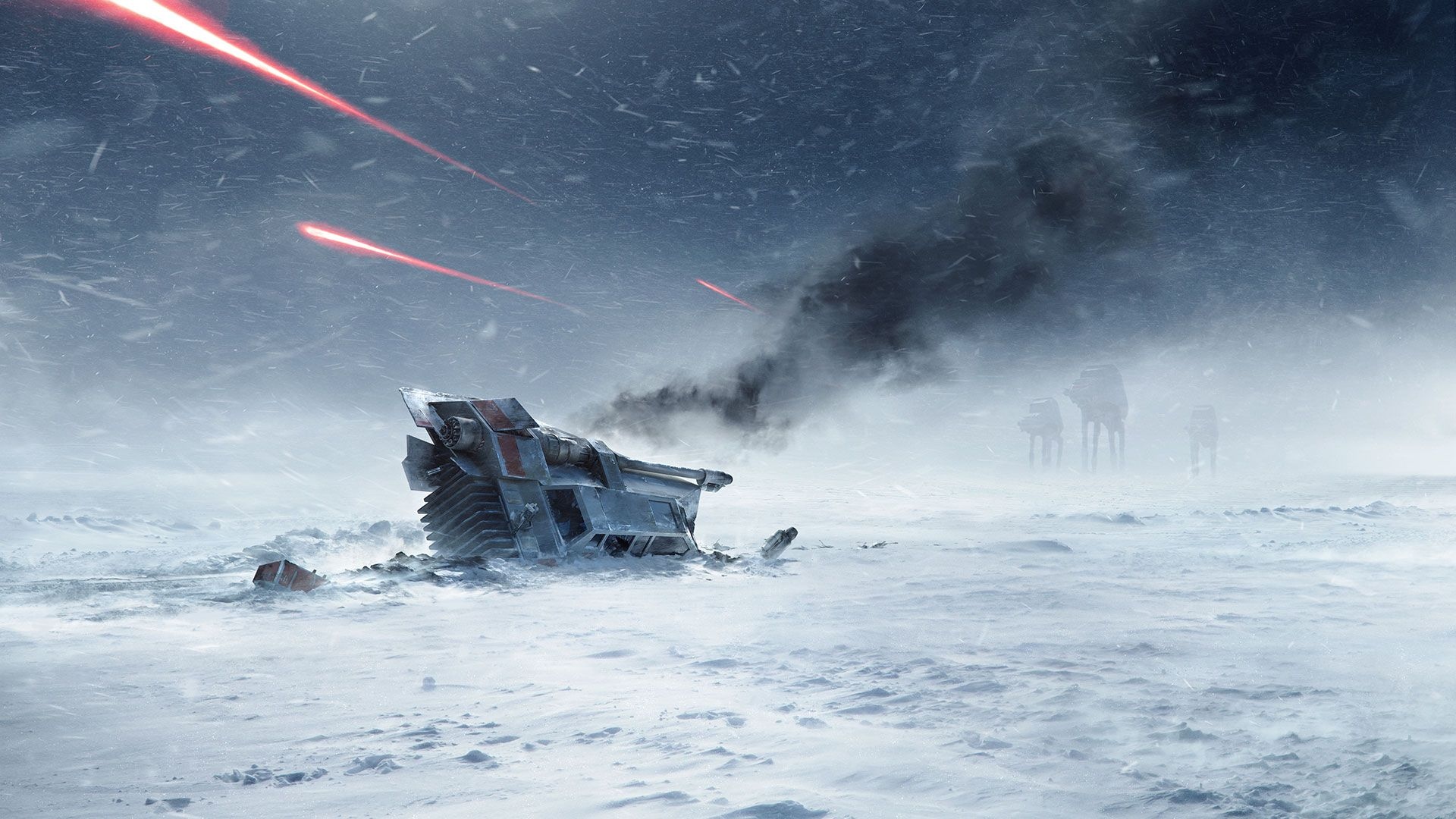 /by ?? starwars art hoth Fond d'écran star wars, Rpg