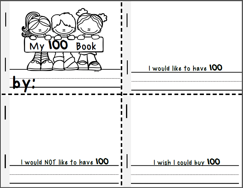 100th Day of School Activities Teachers TakeOut – 100th Day Math Worksheets