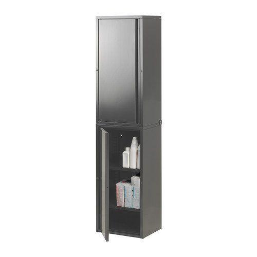 IKEA JOSEF   Cabinet, White   40x35x86 Cm