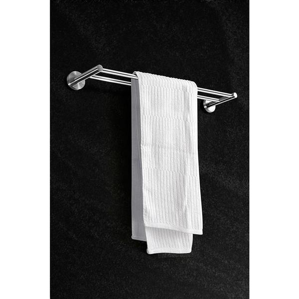 Handtuchhalter aus Edelstahl mit Bildern