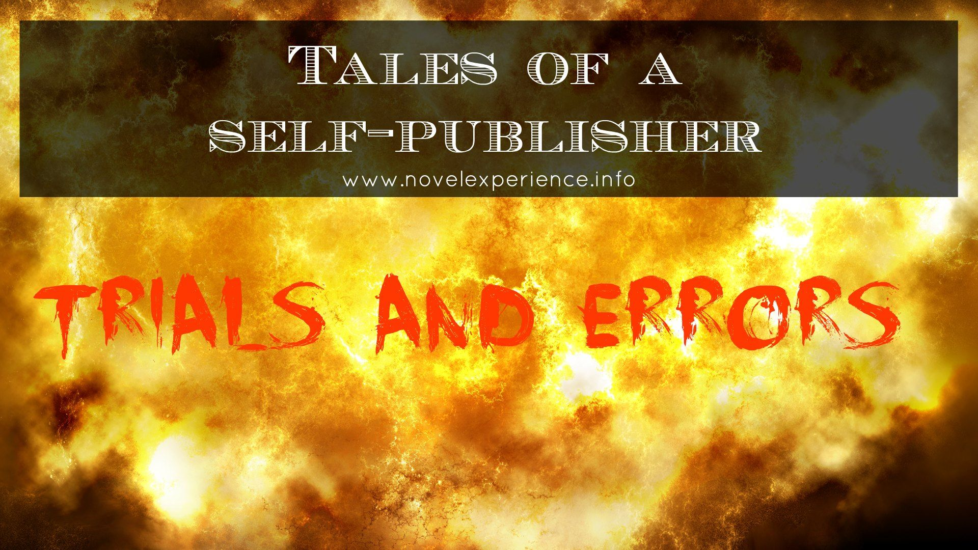 Tales of a Self-publisher - how refreshing to find an author that is willing to share not just the success stories but the failures as well on the road to self-publishing. Check it out - http://house-of-scarabs.tumblr.com/post/46966322177/tales-of-a-self-publisher
