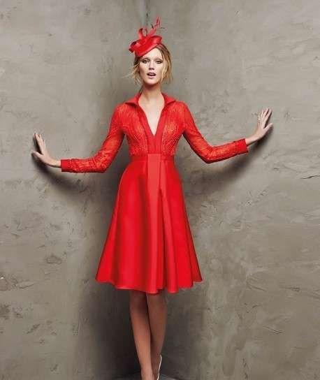 Vestito rosso 2016