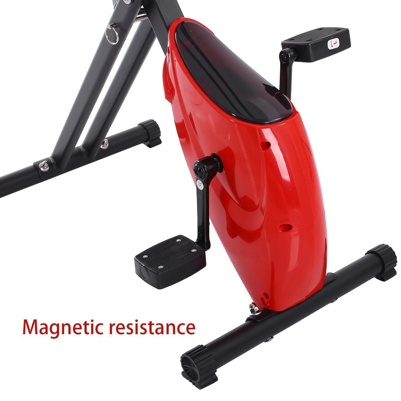 Exercise Bike Jingjing1 Folding Upright Magnetic Exercise Bike