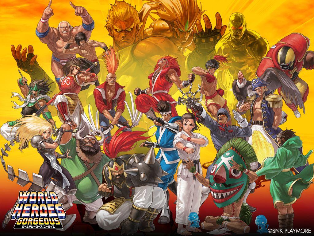 Latest 1024 768 Hero World Hero Art Of Fighting