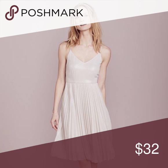 cc626b40c0ba [LC Laurent Conrad] Pleated Metallic Dress New with tags💋 LC Lauren Conrad  Dresses