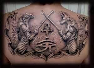 Anubis Horus Tattoo By Erdogancavdar On Deviantart Art