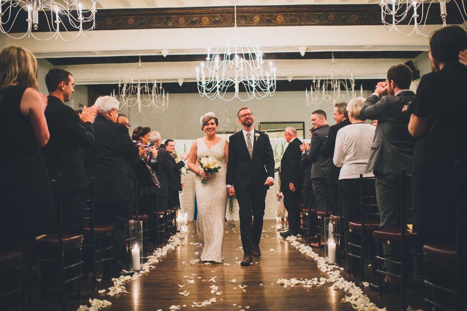 Alexandra Roberts Photography | #AldenCastle #LongwoodVenues #BostonWedding #Boston #Wedding #Bride #Groom #WinterWedding #Ceremony  #Aisle #FlowerPetals #WeddingPhotography http://longwoodevents.com http://alexandraroberts.com