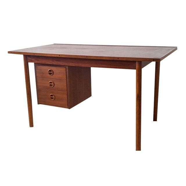 9bdd18911d7e5 A gorgeous mid century modern desk in the style of Arne Vodder-- this teak  desk is a true