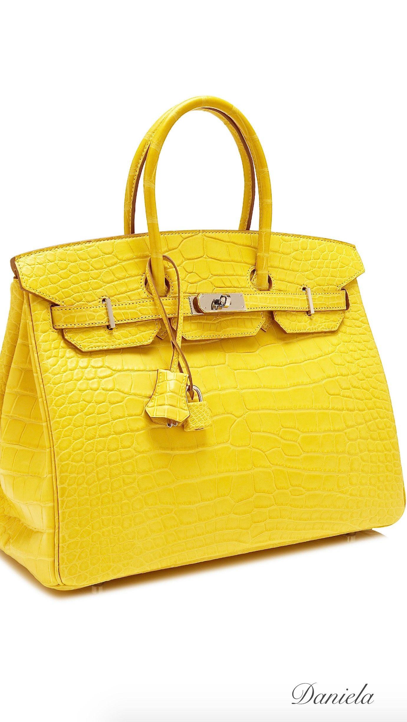 8f0a85b8bb98 Mimosa Alligator Birkin Hermes Bags