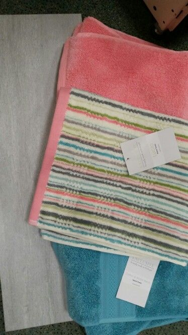 Dunelm coral and teal
