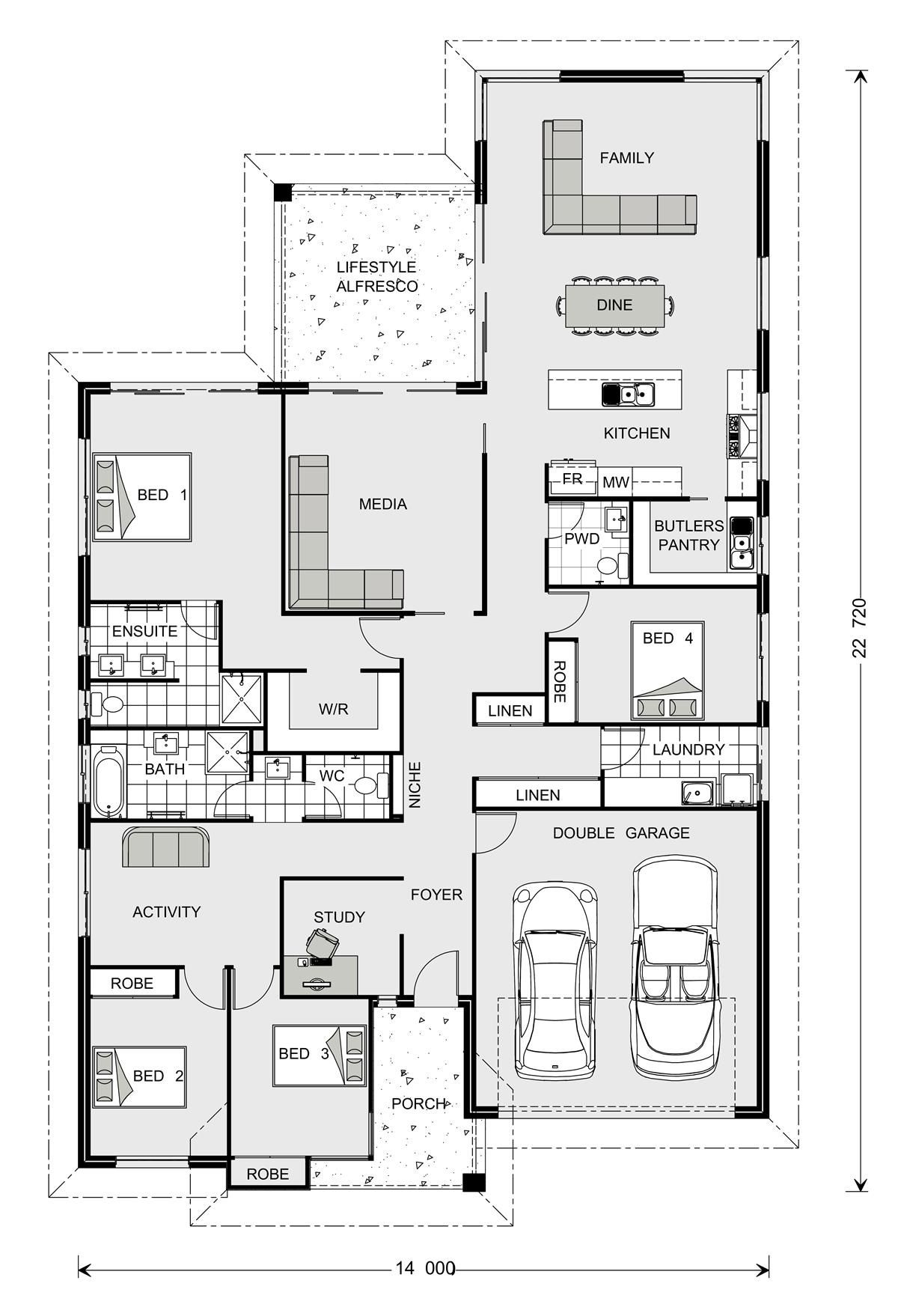 Gj Gardener Nsw Hawkesbury Fantastic For Families Who Have Guests A Lot They Have There Own Loo Dream House Plans House Plans House Design